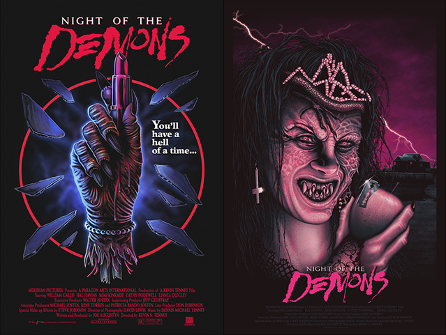 30th Anniversary NIGHT OF THE DEMONS Collection: Part 1 from Gutter Garbs