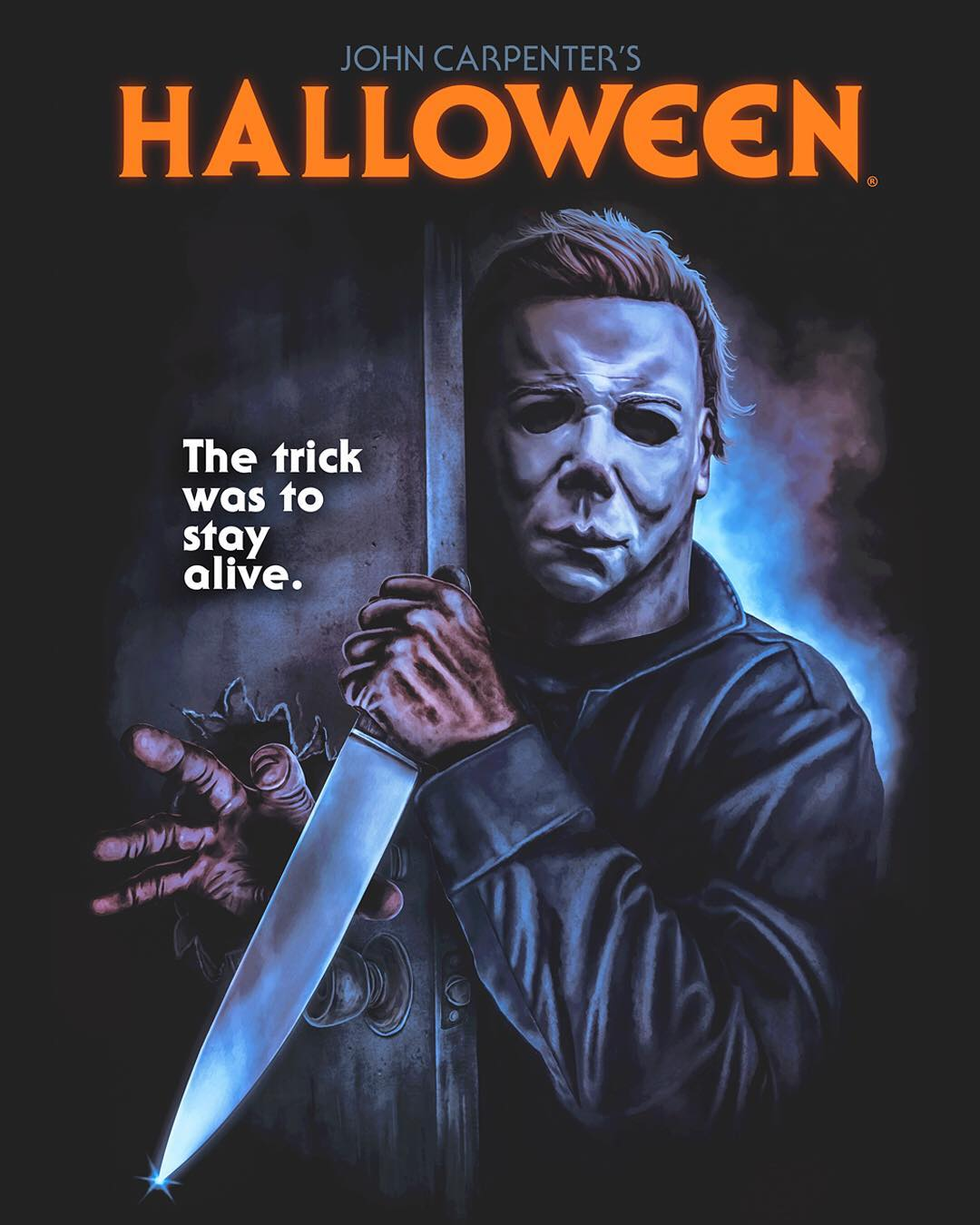 """The Trick Is to Stay Alive!""  40th Anniversary HALLOWEEN Collection: Part 2 from Gutter Garbs"