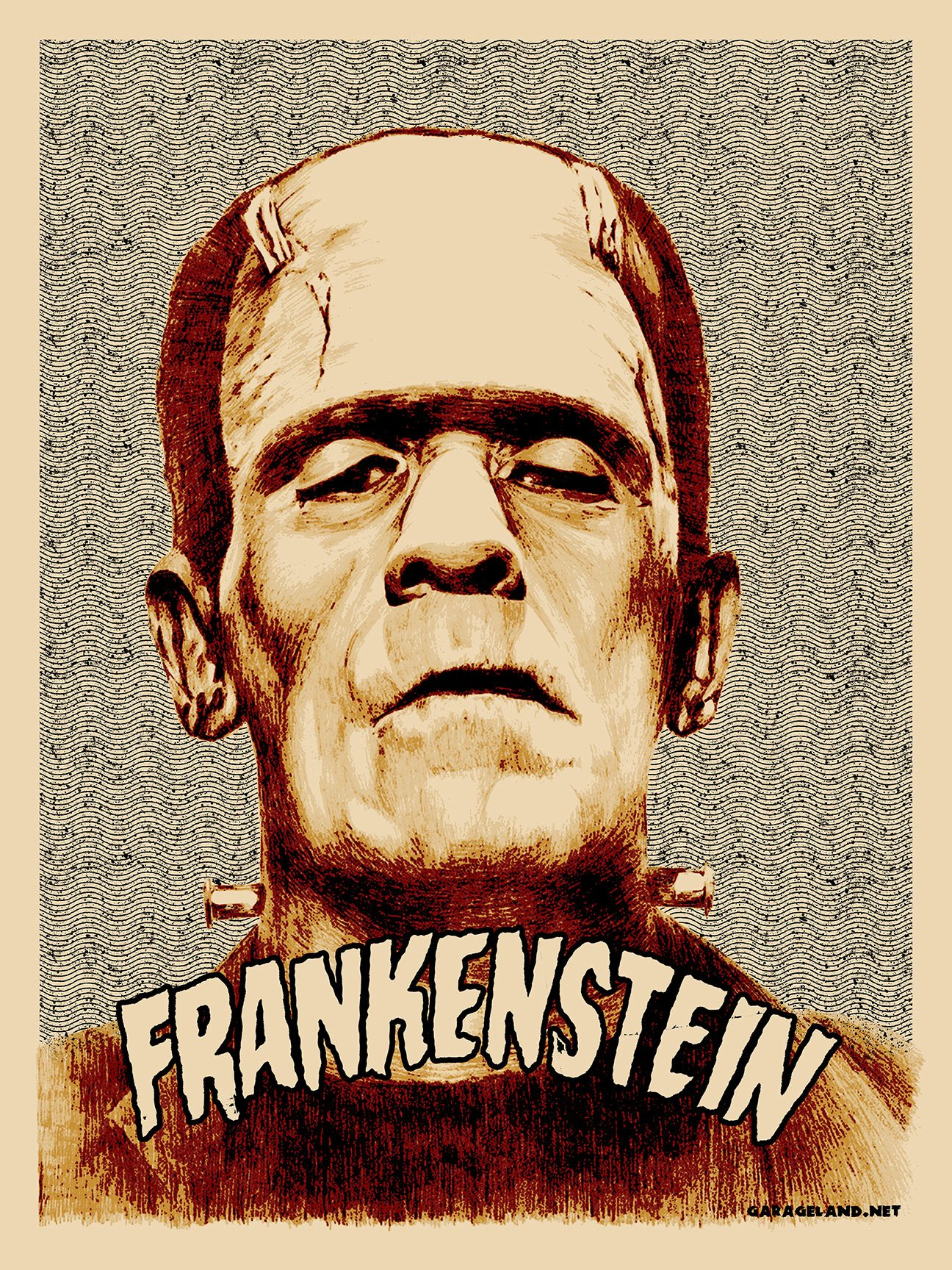 Garageland Famous Monsters Print Series