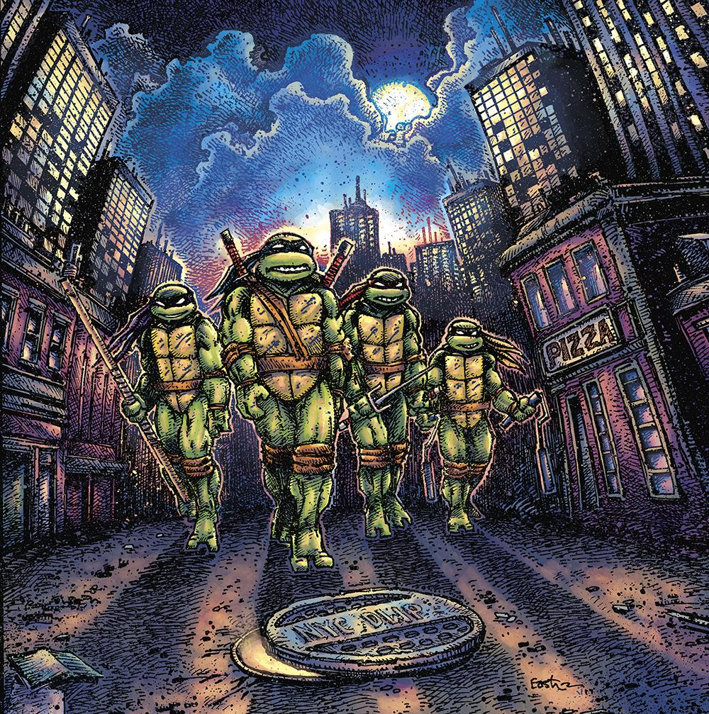 Waxwork Records Presents TEENAGE MUTANT NINJA TURTLES Vinyl Soundtrack