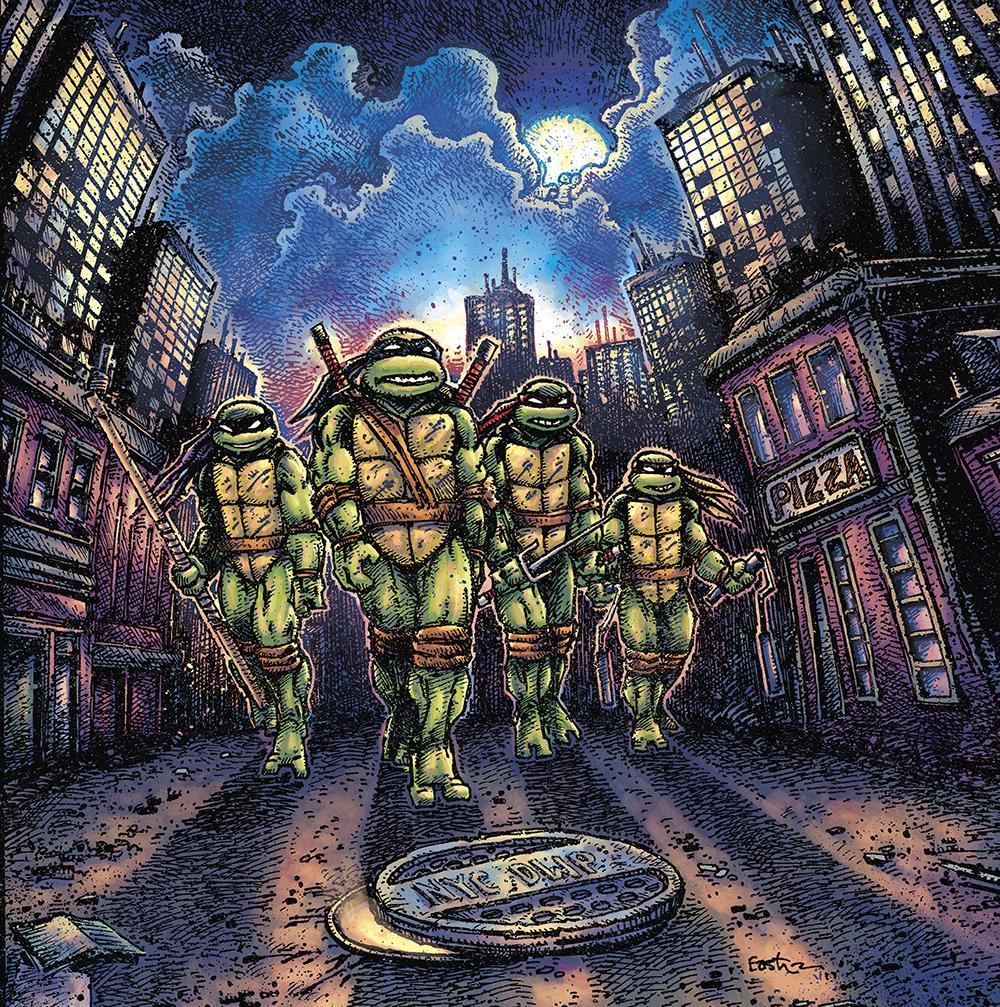 Waxwork Records Presents TEENAGE MUTANT NINJA TURTLES Vinyl Soundtrack