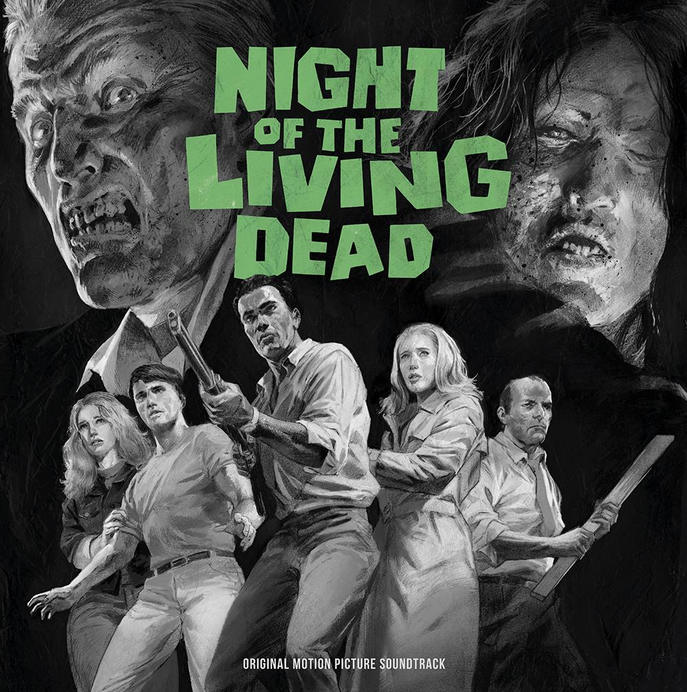 Waxwork Records Presents NIGHT OF THE LIVING DEAD Vinyl Soundtrack