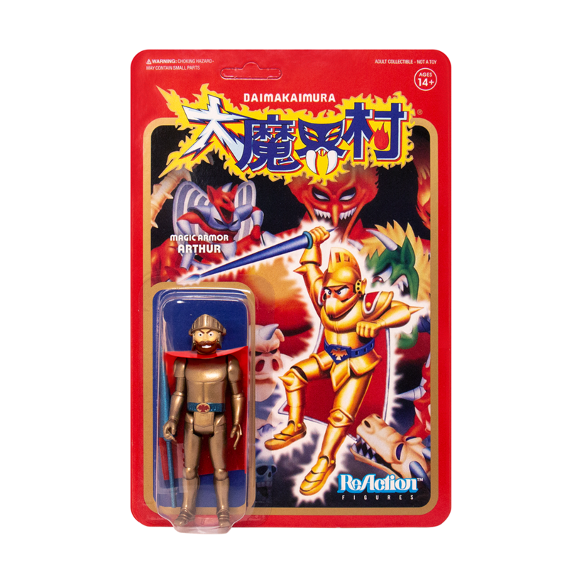 Super7 METROPOLIS & GHOSTS 'N GOBLINS ReAction Figures