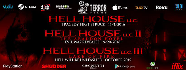 Terror Films Unleashes Hell House LLC II: The Abaddon Hotel via a Wide Digital Release January 4th 2019