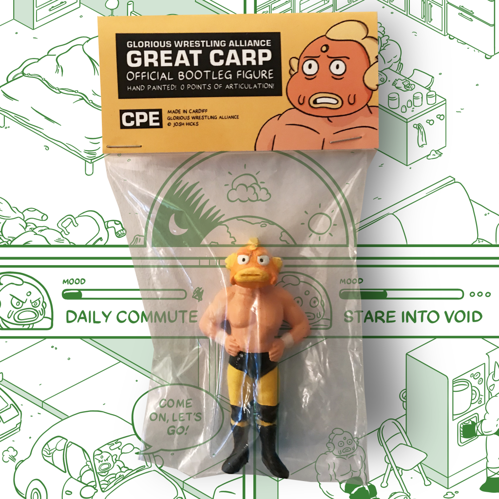 Now on Kickstarter: Glorious Wrestling Alliance ☆ Premium Special ☆
