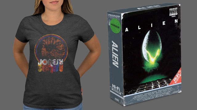 ALIEN DAY Collection Launches at Fright-Rags + PET SEMATARY & HALLOWEEN Merchandise