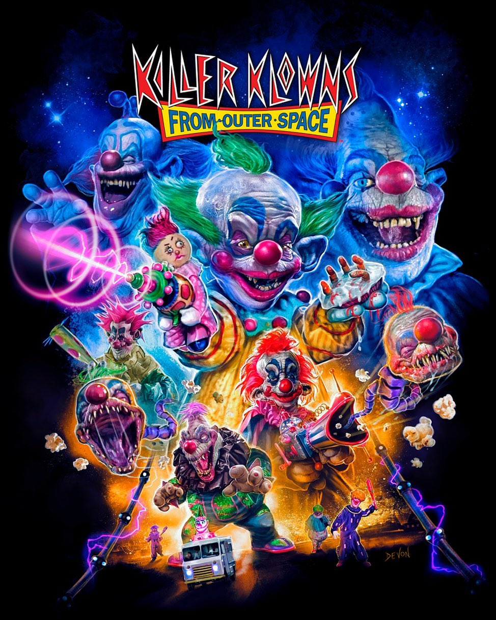 KILLER KLOWNS FROM OUTER SPACE Collection: Part 1 from Cavity Colors 嵐