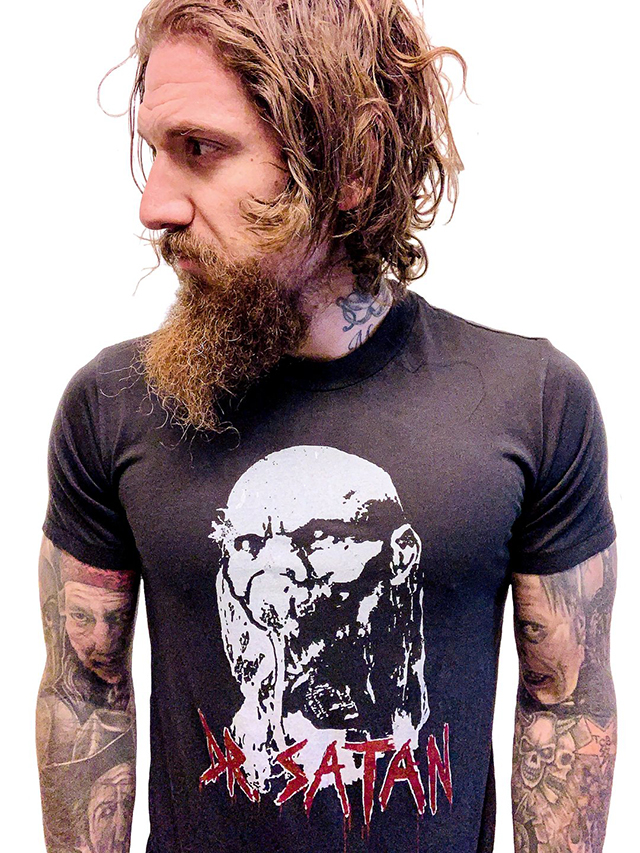 Limited Edition Dr. Satan Tee from Local Boogeyman