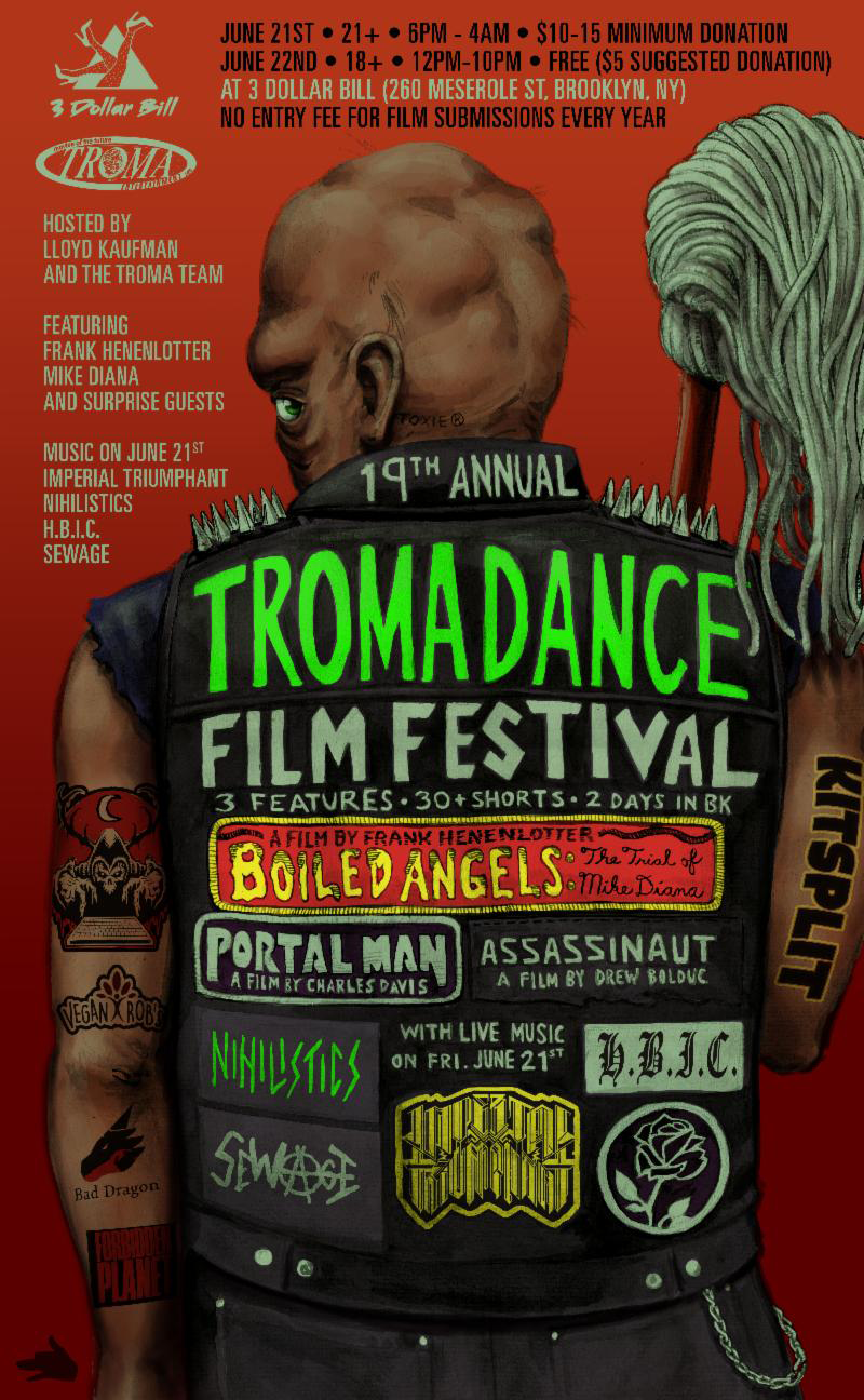 Celebrate Independent Art at the 19th Annual Tromadance Film Festival in Brooklyn, June 21-22