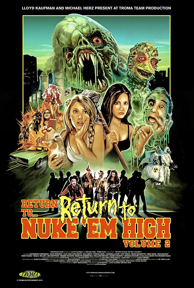 Return to Return to Nuke 'Em High AKA Vol. 2 Special Encore Screening on May 18th at Film Noir Cinema, NYC!