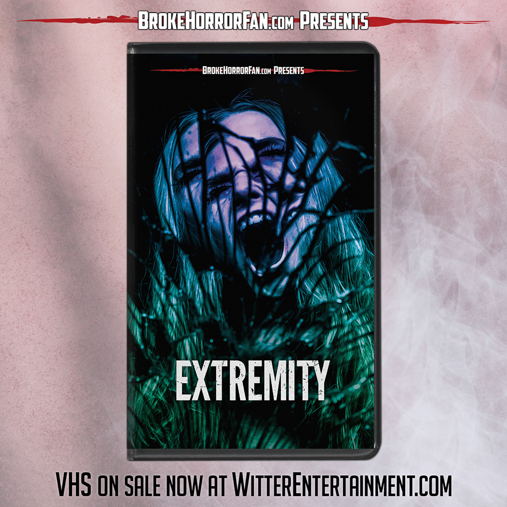 EXTREMITY on Limited Edition VHS and TERRIFIER Restocked Courtesy of Broke Horror Fan