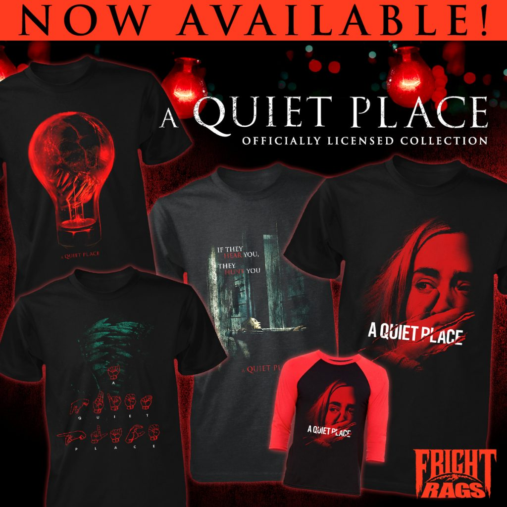 Prepare for the Apocalypse with MARS ATTACKS, DAY OF THE DEAD & A QUIET PLACE Apparel from Fright-Rags