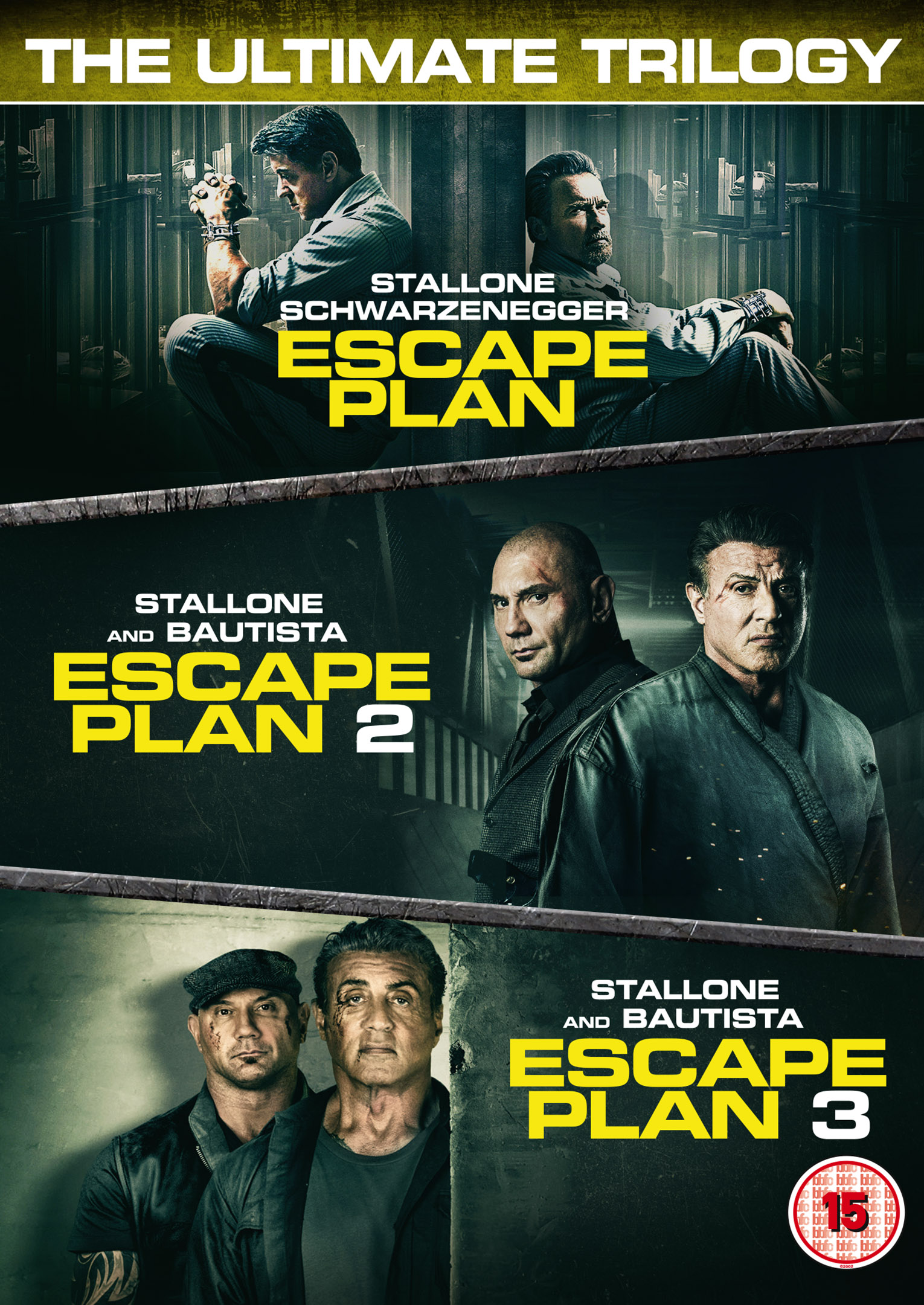 ESCAPE PLAN 3 on Blu-ray, DVD, Digital Download & in a Trilogy Boxset 26th August from Signature Entertainment