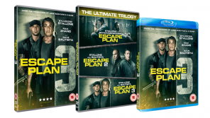 ESCAPE PLAN 3 on Blu-ray, DVD, Digital Download & in a Trilogy Boxset 8th April from Signature Entertainment