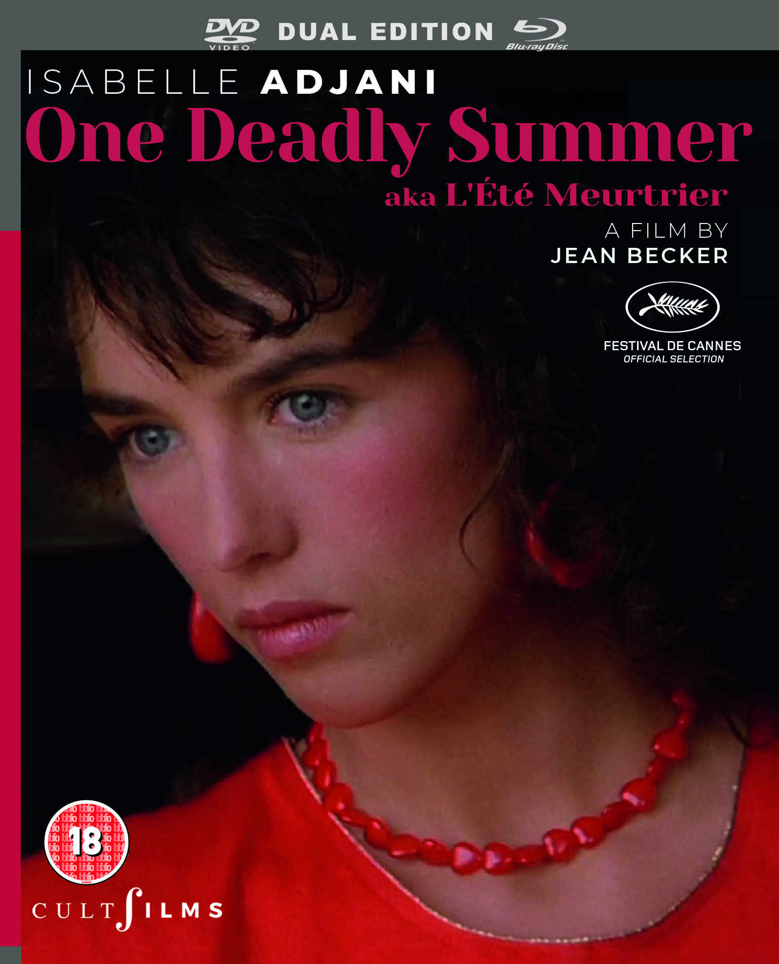 CultFilms presents Isabelle Adjani in ONE DEADLY SUMMER on Dual Format Blu-ray/DVD 29 July