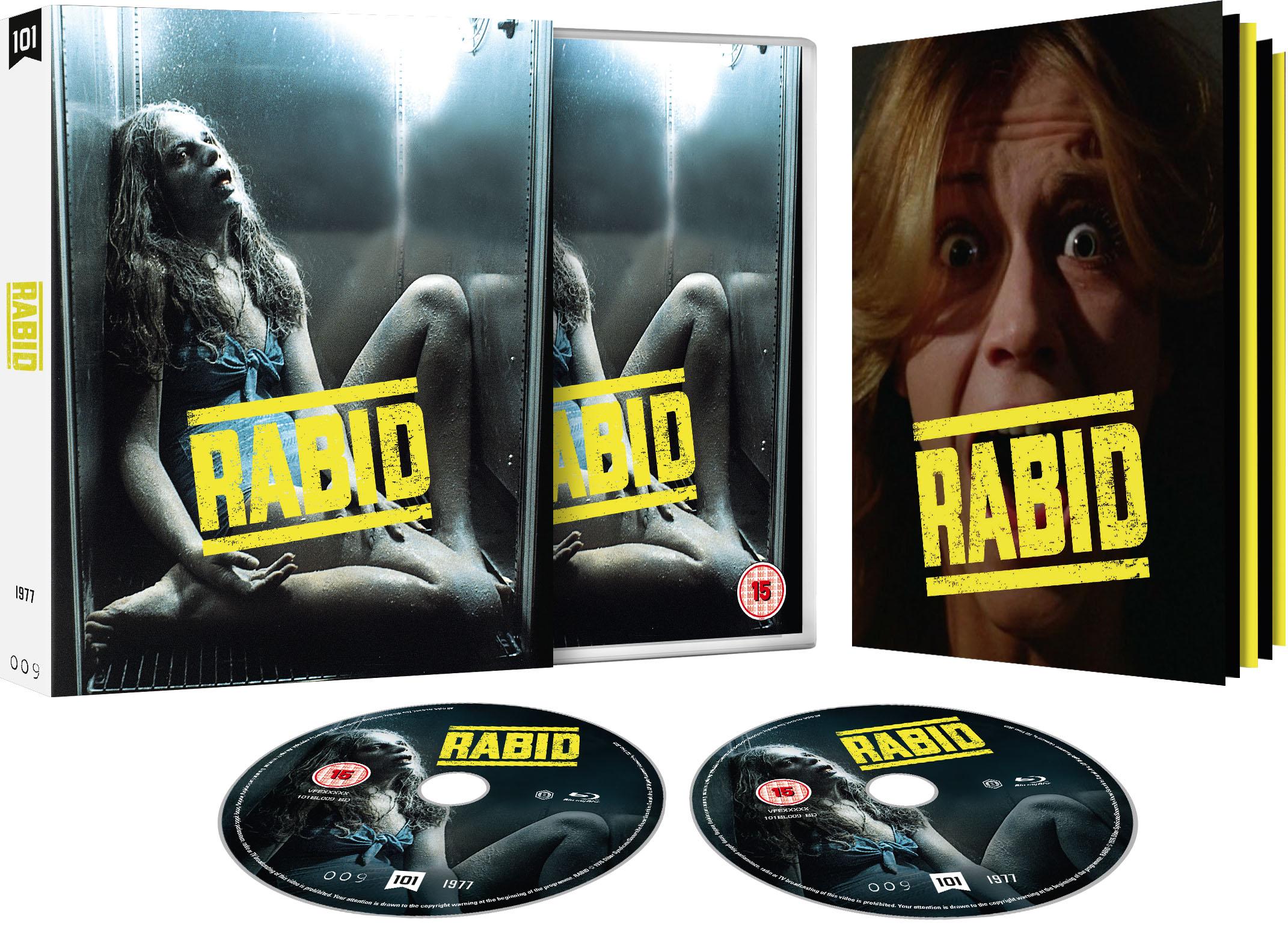 David Cronenberg's RABID (26 August) & Lost 90s Horror SKINNER (23 September) Head to Blu-ray from 101 Films Black Label