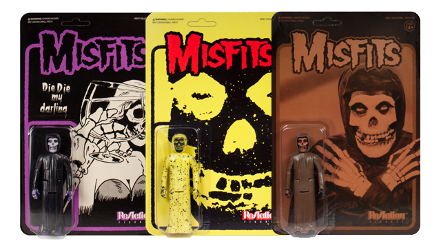 Super7 MISFITS ReAction Figures: Die Die My Darling, Collection I & II