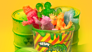 Super 7 TOXIC CRUSADERS Keshi Trash Can