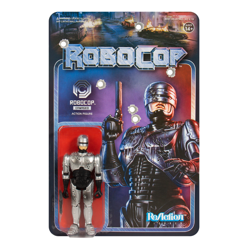 Super7 ROBOCOP ReAction Figures