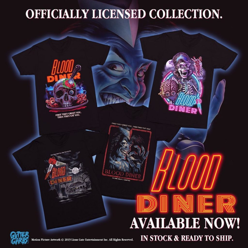 """It Is Night. It Is Cold. It Is Coming."" THE FOG & BLOOD DINER Collections from Gutter Garbs"