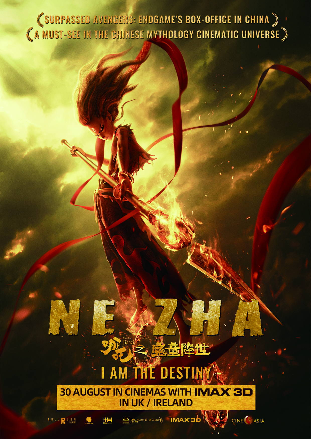 Chinese Animated Box Office Sensation NE ZHA Released in IMAX 3D and UK & ROI Cinemas from 30th August