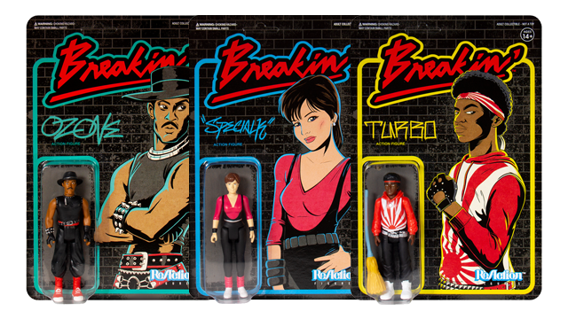 Super7 BREAKIN' ReAction Figures