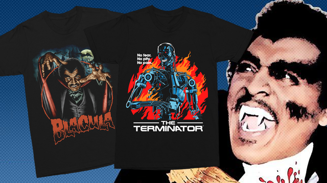 """Deadlier Than Dracula!"" BLACULA & THE TERMINATOR Collections from Gutter Garbs"