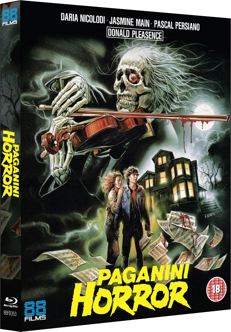 PAGANINI HORROR (The Italian Collection) Available 16th September on Blu-ray from 88 Films