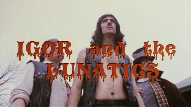 Troma Tuesdays: Lloyd Kaufman and Michael Herz's Infamously Shocking IGOR AND THE LUNATICS Screening October 1st at Lucky 13 Saloon, NYC and The Grand Gerrard, Toronto!