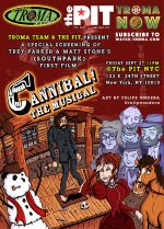 Trey Parker and Matt Stone's Savagely Hilarious CANNIBAL! THE MUSICAL Screening on September 27th at 11 PM at The PIT in NYC!