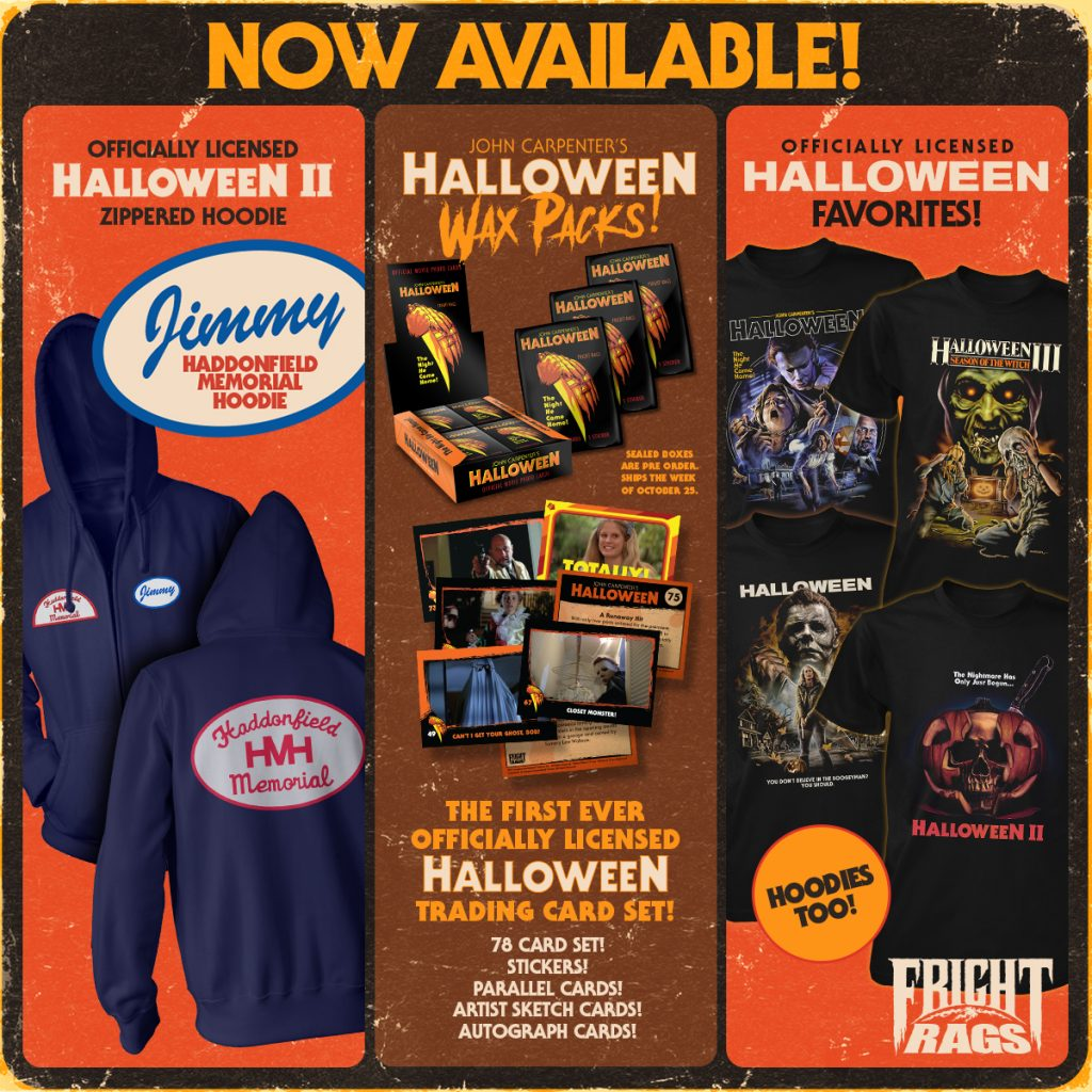 Fright-Rags Kicks Off the Spooky Season with TRICK 'R TREAT, HALLOWEEN, THE CROW & BELA LUGOSI Merchandise
