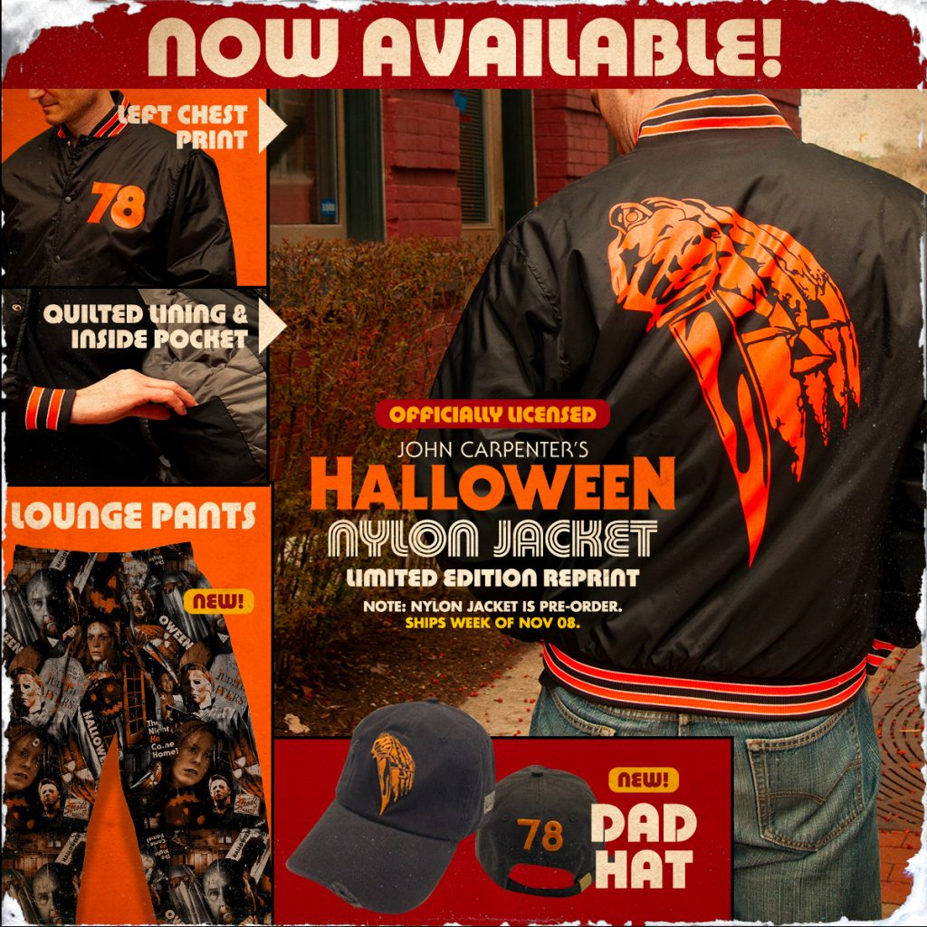 Get Spooky with HALLOWEEN, UNIVERSAL MONSTERS, FANGORIA, STARLOG, GOREZONE & JOE BOB BRIGGS Merchandise from Fright-Rags