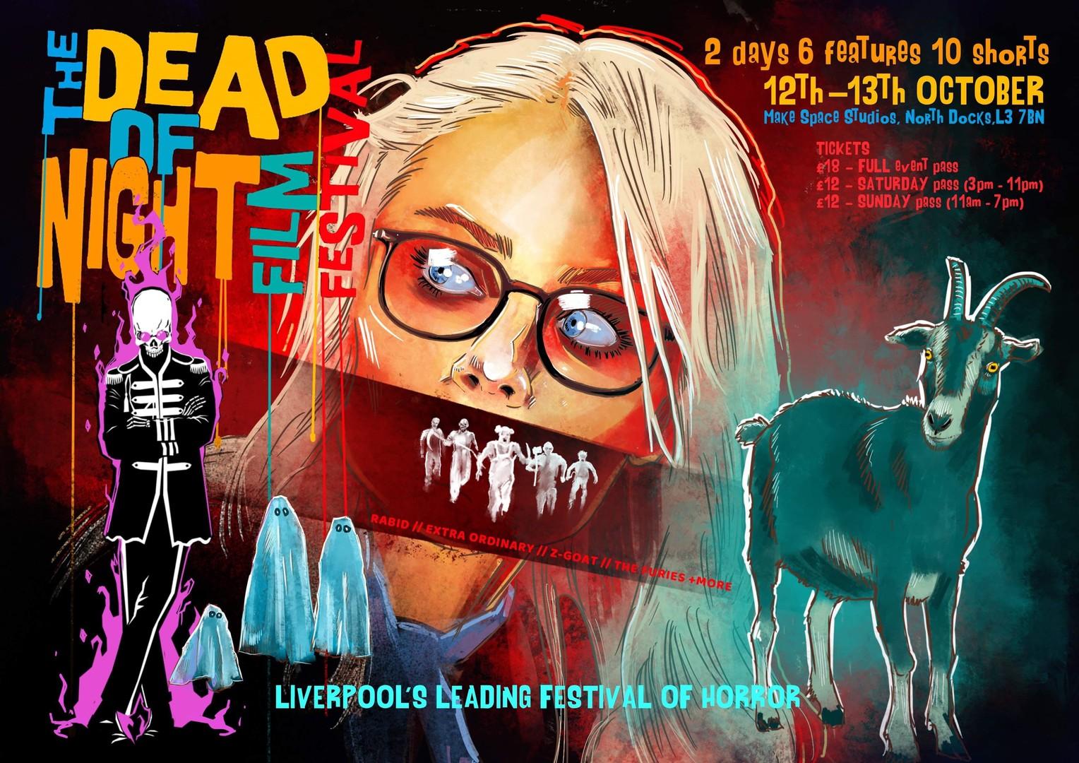 The Dead of Night Film Festival (Sunday 13th October 2019)