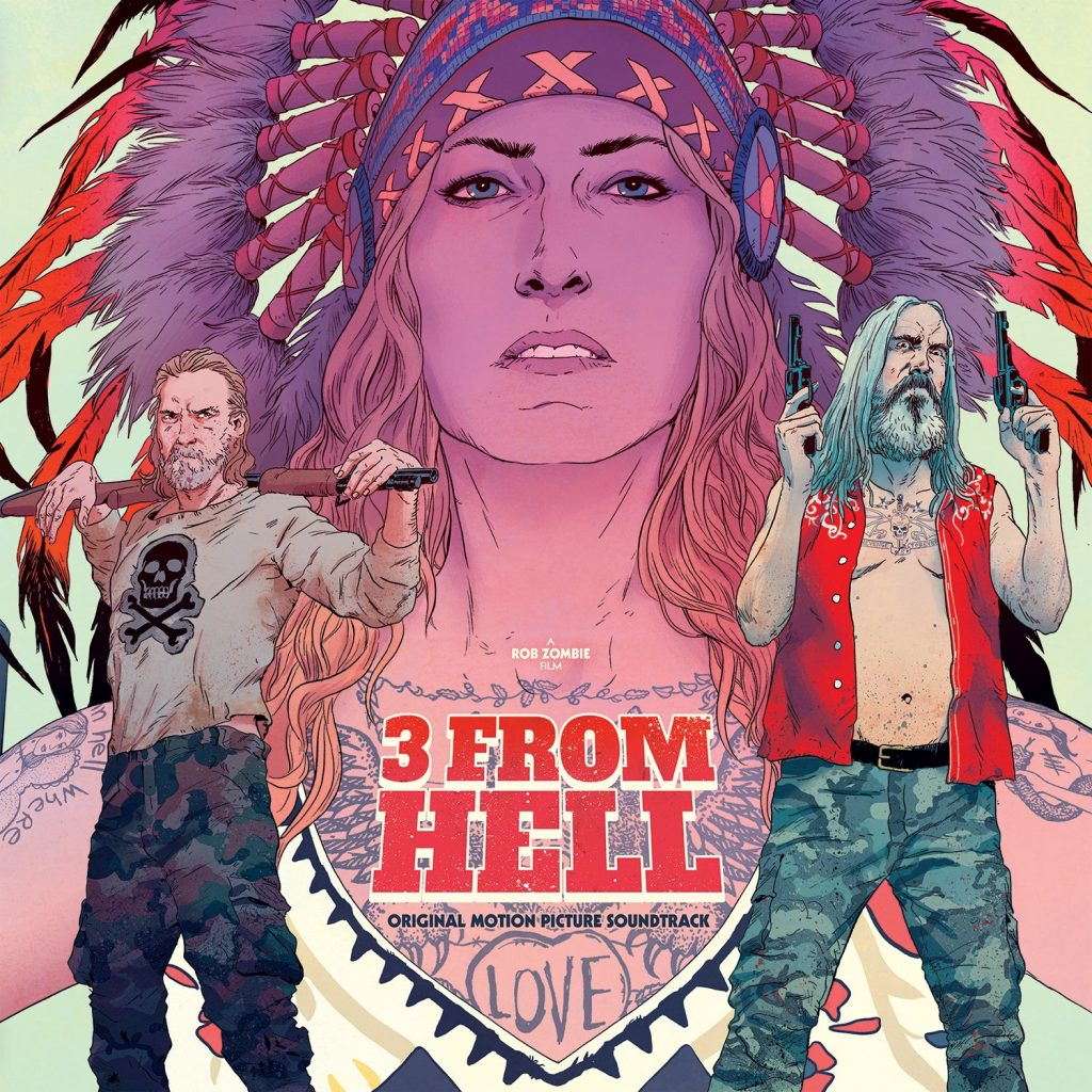 Waxwork Records Presents 3 FROM HELL Vinyl Soundtrack