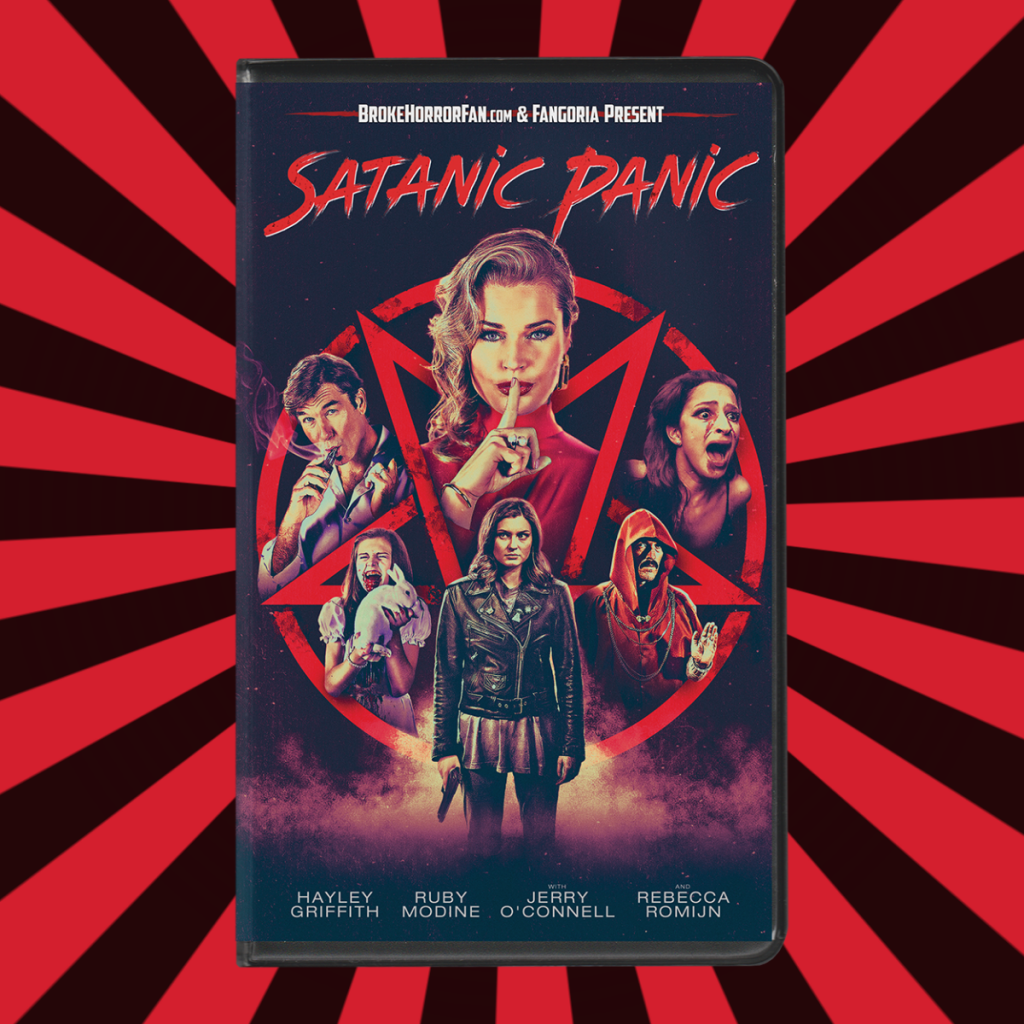 Fangoria's SATANIC PANIC Now Available on VHS + 80s Homage T-Shirt 📼 Courtesy of Broke Horror Fan & Witter Entertainment