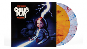 Waxwork Records Presents CHILD'S PLAY (1988) Vinyl Soundtrack & Turntable Slip Mat
