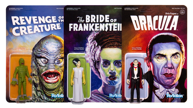 Super7 UNIVERSAL MONSTERS ReAction Figures