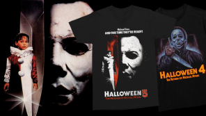 """Michael Lives!"" HALLOWEEN 4: THE RETURN OF MICHAEL MYERS & HALLOWEEN 5: THE REVENGE OF MICHAEL MYERS Collections from Gutter Garbs"