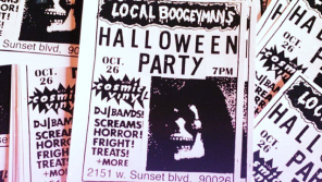 Local Boogeyman & Cosmic Vinyl's Halloween Party 🎃 at W. Sunset Blvd, LA (26th October)
