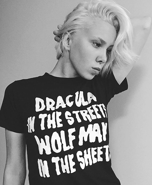 Dracula in the Streets, Wolfman in the Sheets T-Shirt from Local Boogeyman