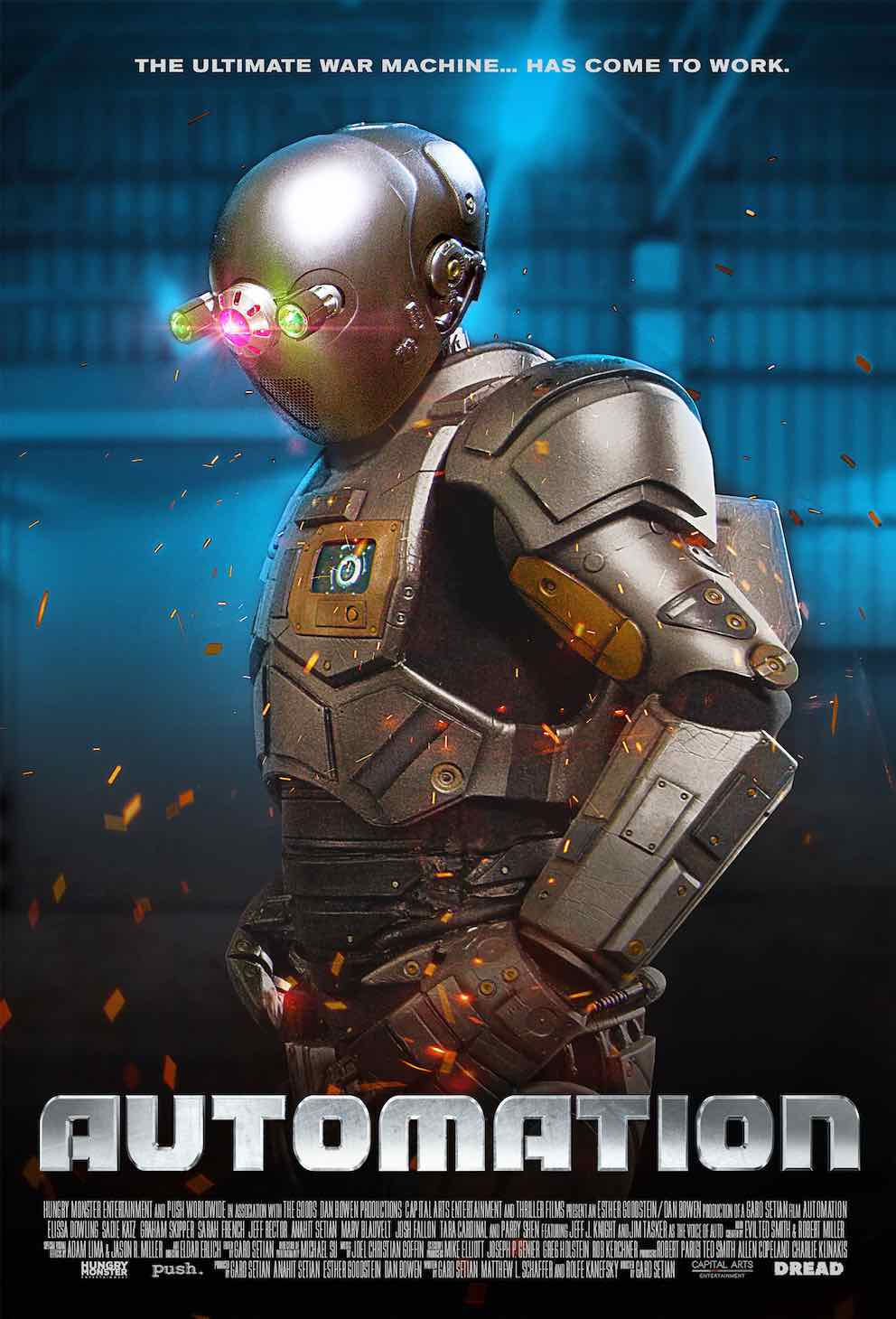 Sci-Fi Thriller/Comedy AUTOMATION 🤖 Opening in Select Cinemas November 29th & VOD/Blu-ray December 3rd from Epic Pictures and Dread