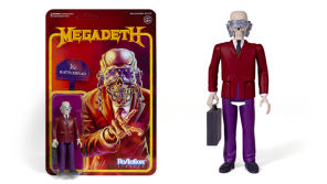Super7 MEGADETH Vic Rattlehead ReAction Figure