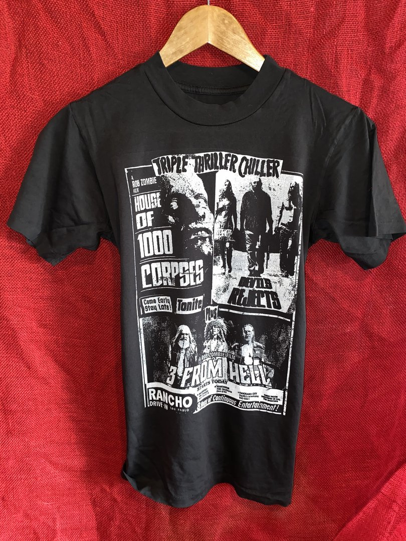 Rob Zombie Triple Thriller Chiller T-Shirt from Local Boogeyman