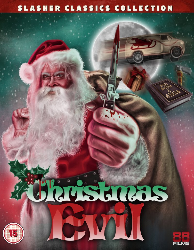 CHRISTMAS EVIL (Slasher Classics Collection) Available Now on Blu-ray from 88 Films