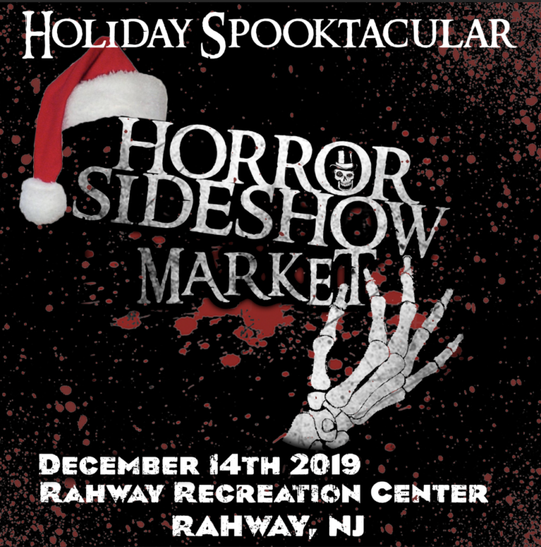 Celebrate a Merry Toxmas and a Cramp Filled Krampus with Lloyd Kaufman at The Horror Sideshow Market in Rahway, NJ from December 14th-15th!