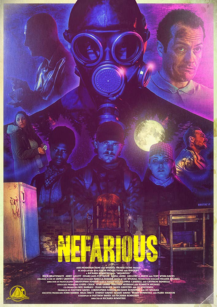 Gravitas Ventures Has Acquired Independent Horror/Thriller NEFARIOUS for Worldwide Distribution