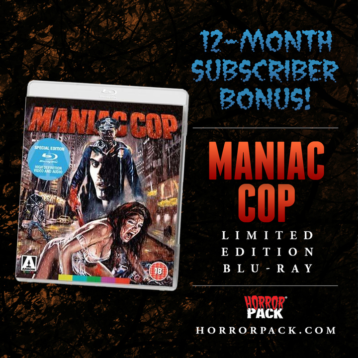 HorrorPack January 2020 Horror Movie Subscription Box