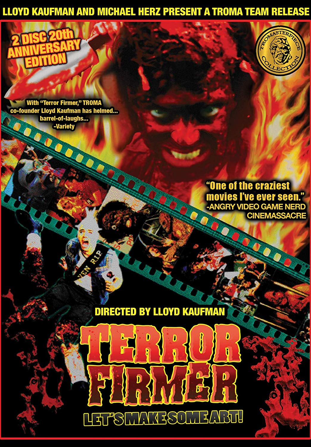 Lloyd Kaufman's TERROR FIRMER: The 20th Anniversary Edition 2-Disc Blu-ray! Available in Stores Worldwide 11th February from Troma