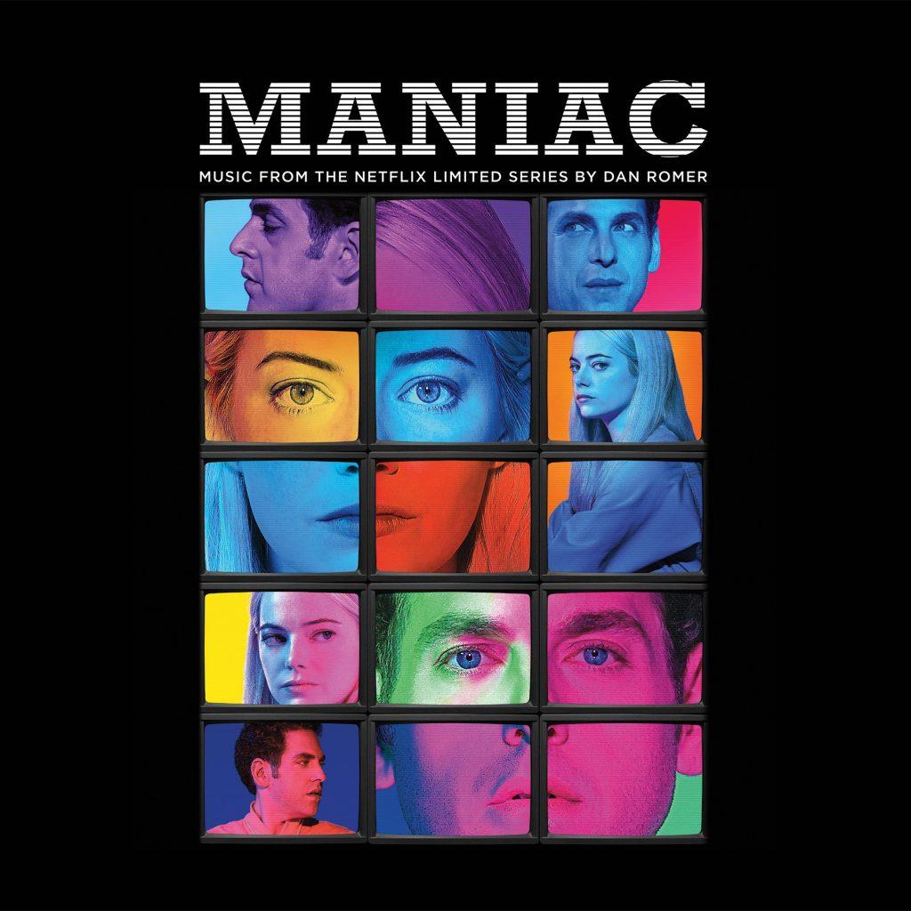 Waxwork Records Presents MANIAC Netflix Vinyl Soundtrack