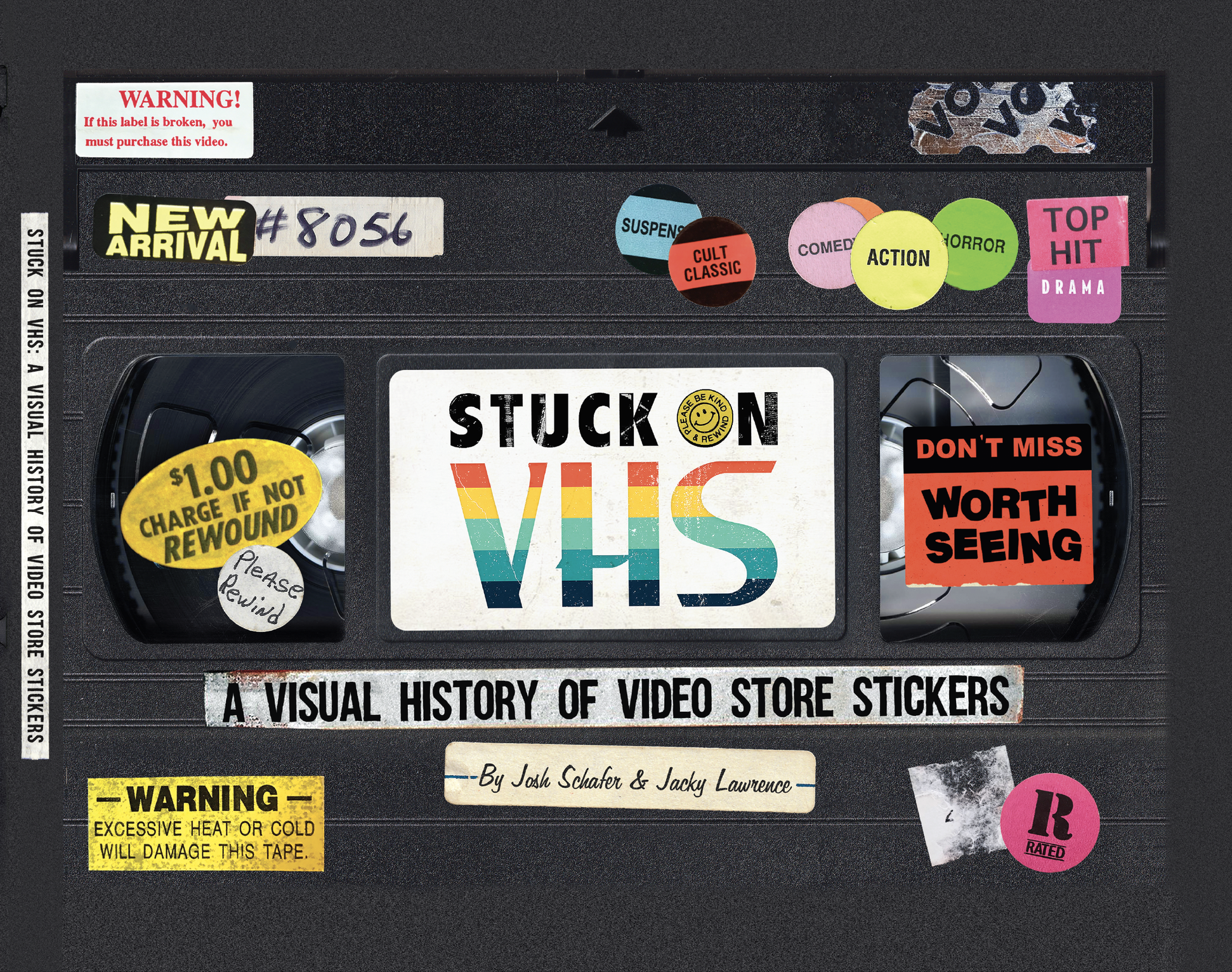 Alamo Drafthouse Celebrates VHS Culture with STUCK ON VHS: A VISUAL HISTORY OF VIDEO STORE STICKERS